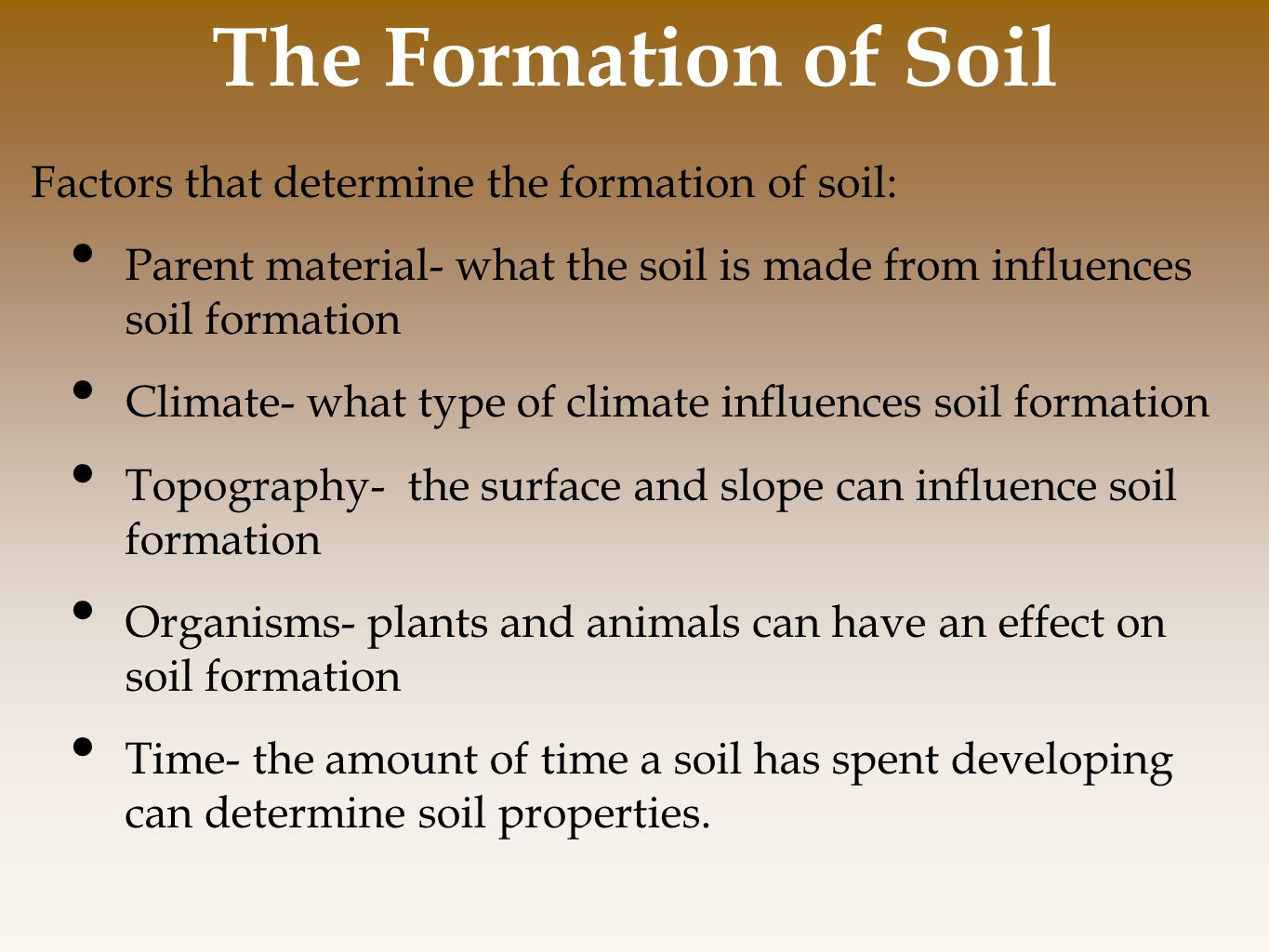 Chapter 10 land public and private ppt video online for Where to find soil