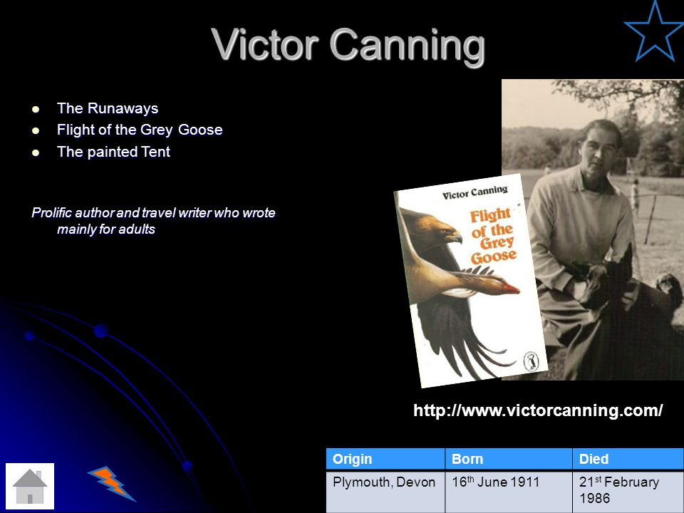 Victor Canning http://www.victorcanning.com/ The Runaways