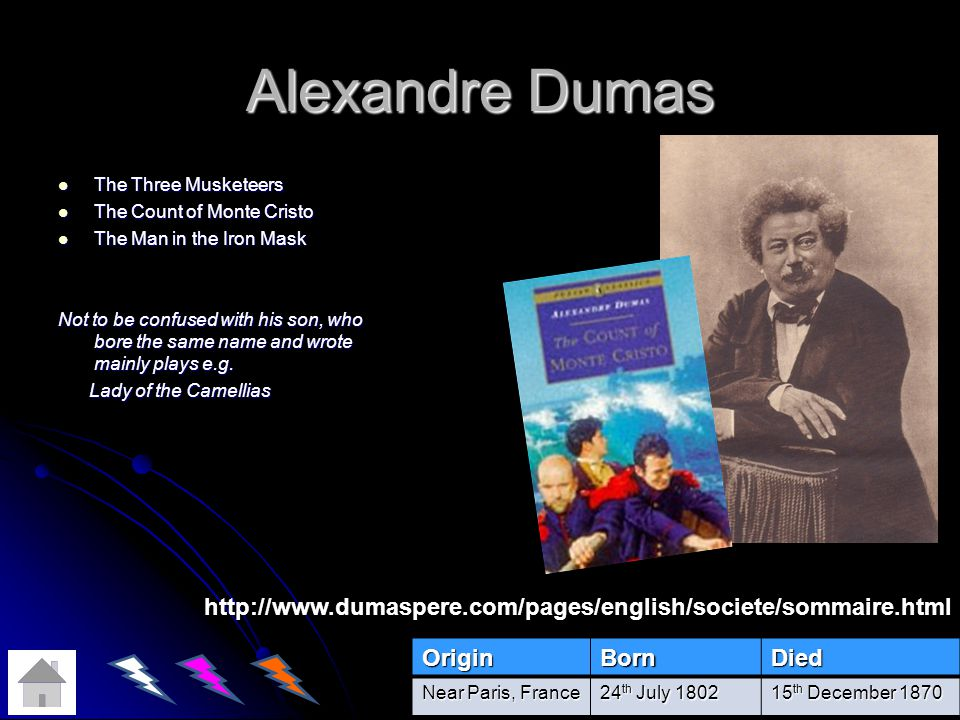 Alexandre Dumas The Three Musketeers. The Count of Monte Cristo. The Man in the Iron Mask.