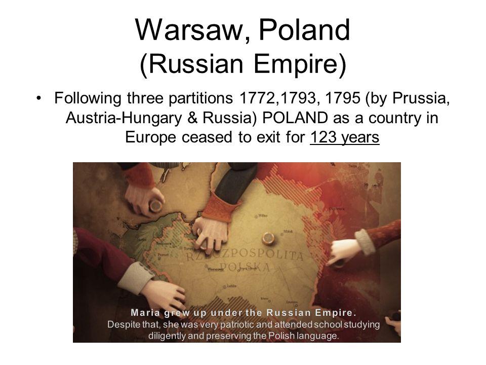 Warsaw, Poland (Russian Empire)