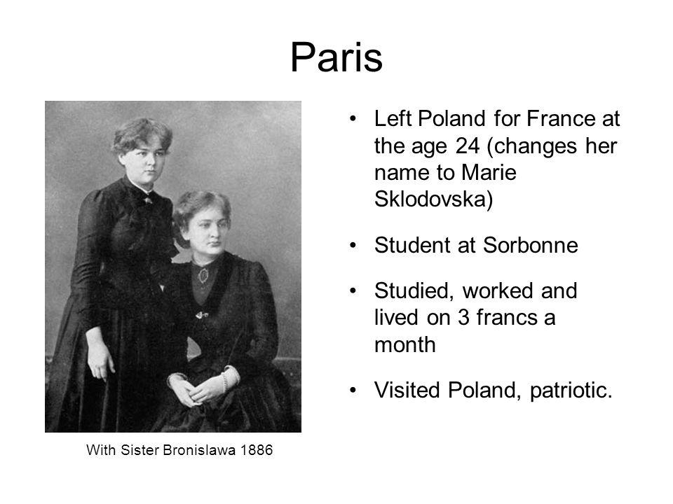 With Sister Bronislawa 1886