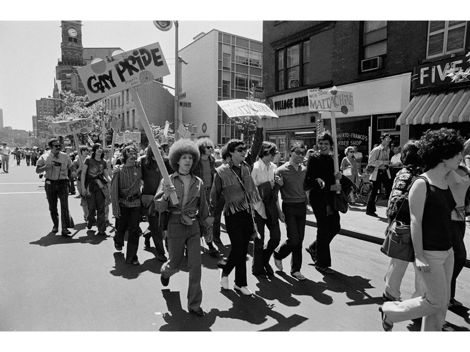 fig25_26.jpg Page 1012 (top): Part of the Gay Liberation Day demonstration in New York City in June 1970.