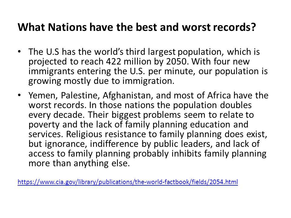 What Nations have the best and worst records
