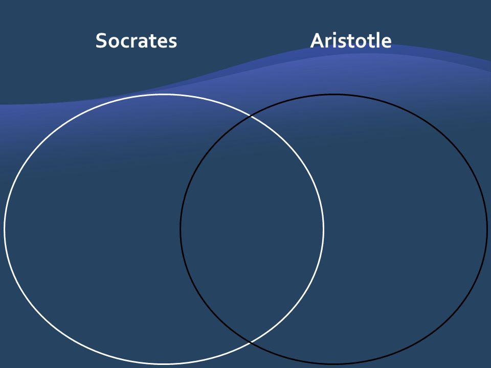 Socrates Aristotle