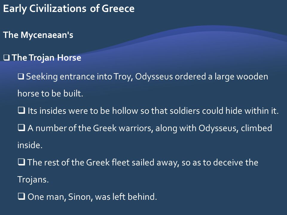 Early Civilizations of Greece