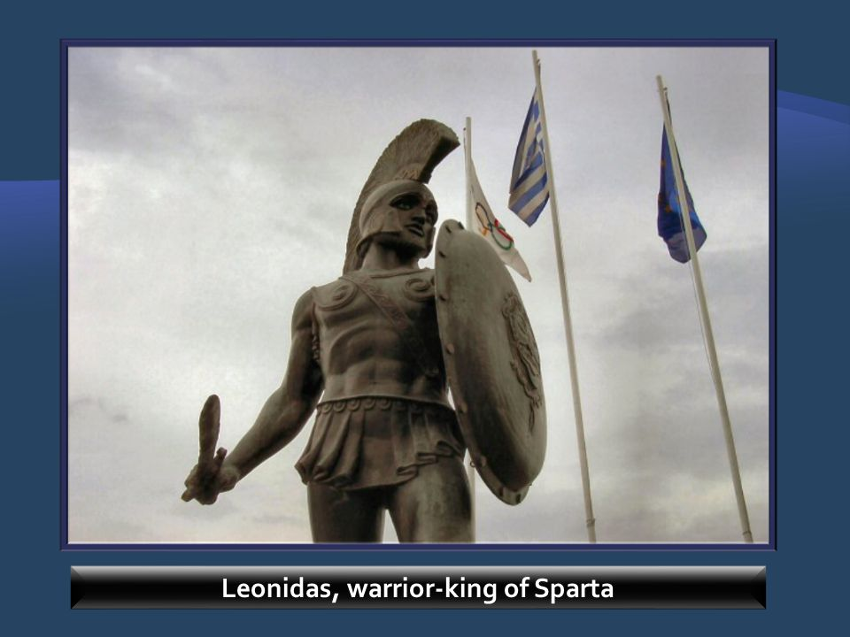 Leonidas, warrior-king of Sparta