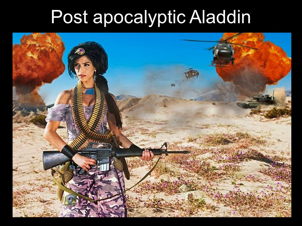 Post apocalyptic Aladdin