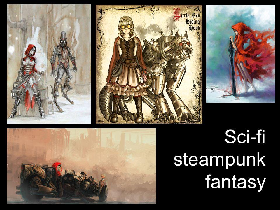Sci-fi steampunk fantasy
