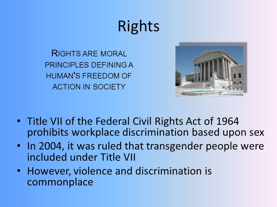 Rights Rights are moral principles defining a human s freedom of action in society.