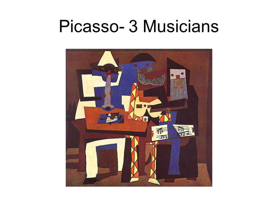 Picasso- 3 Musicians