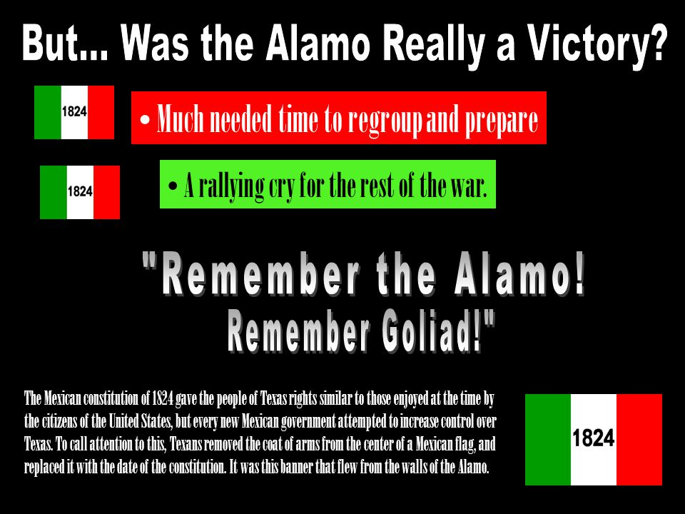 But... Was the Alamo Really a Victory