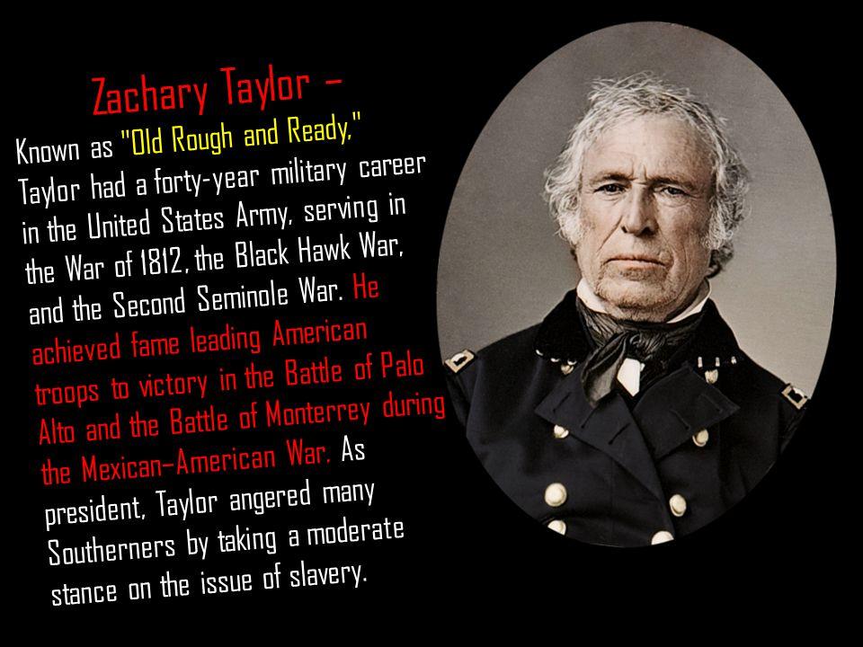 Zachary Taylor –