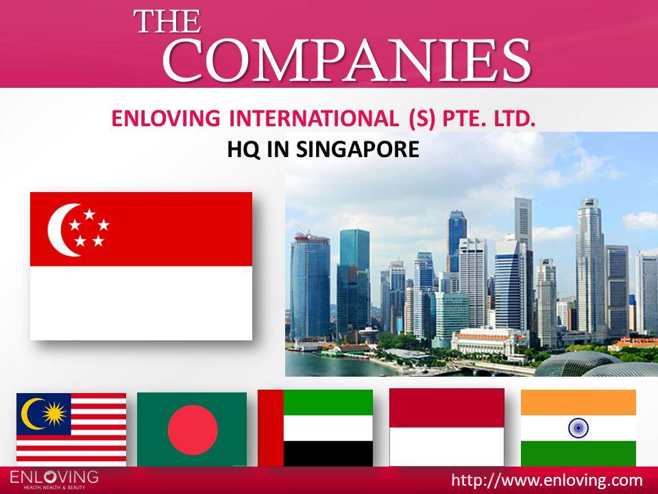 ENLOVING INTERNATIONAL (S) PTE. LTD.