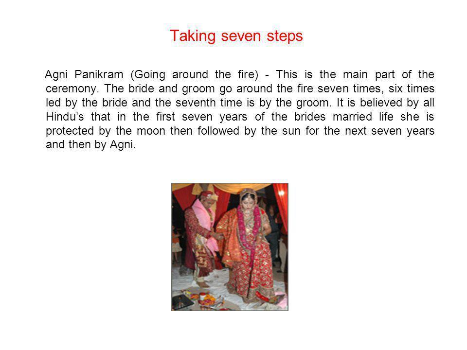 Taking seven steps
