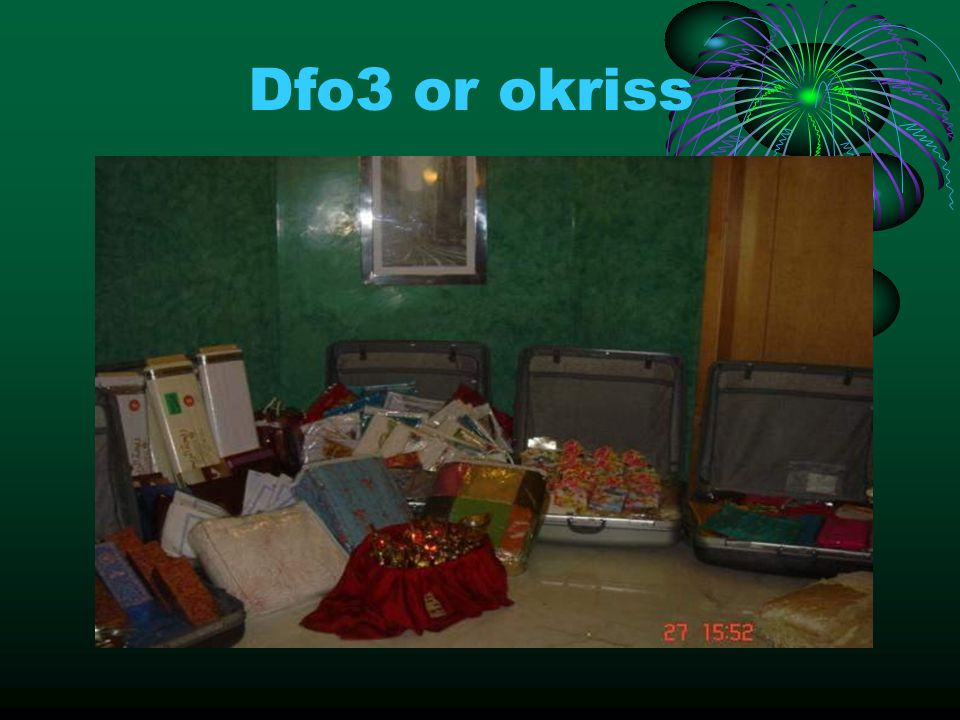 Dfo3 or okriss