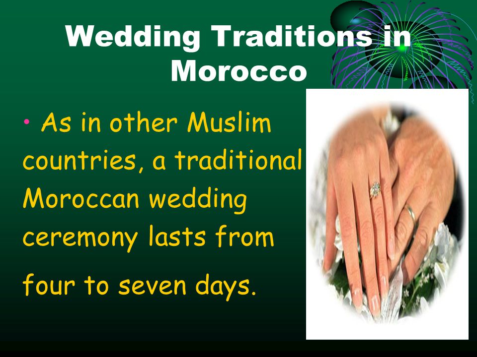 Wedding Traditions in Morocco