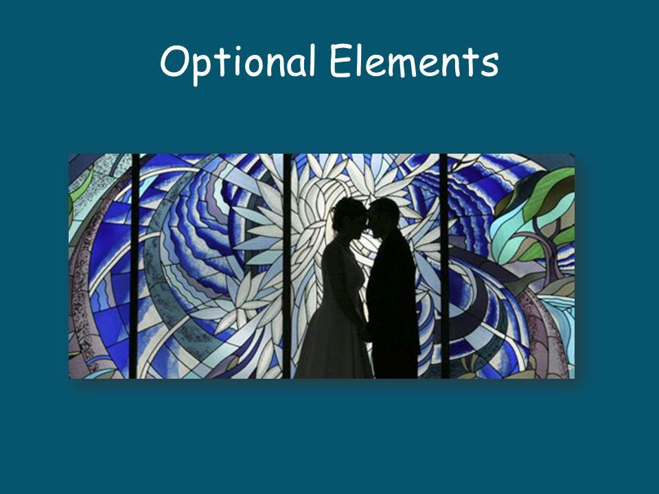 Optional Elements