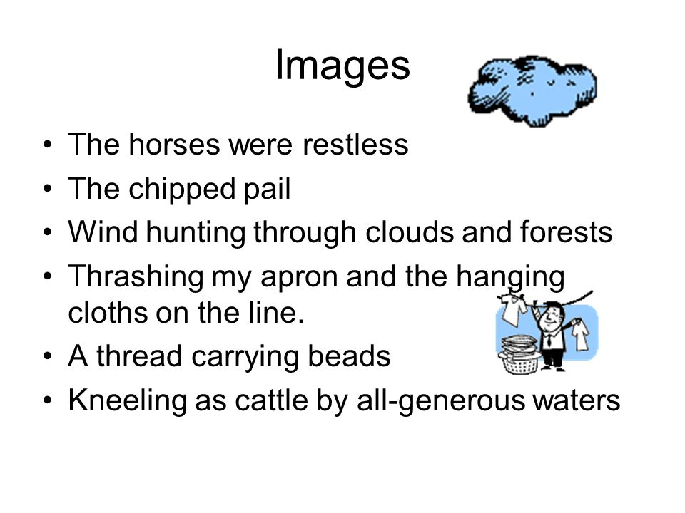 Images The horses were restless The chipped pail