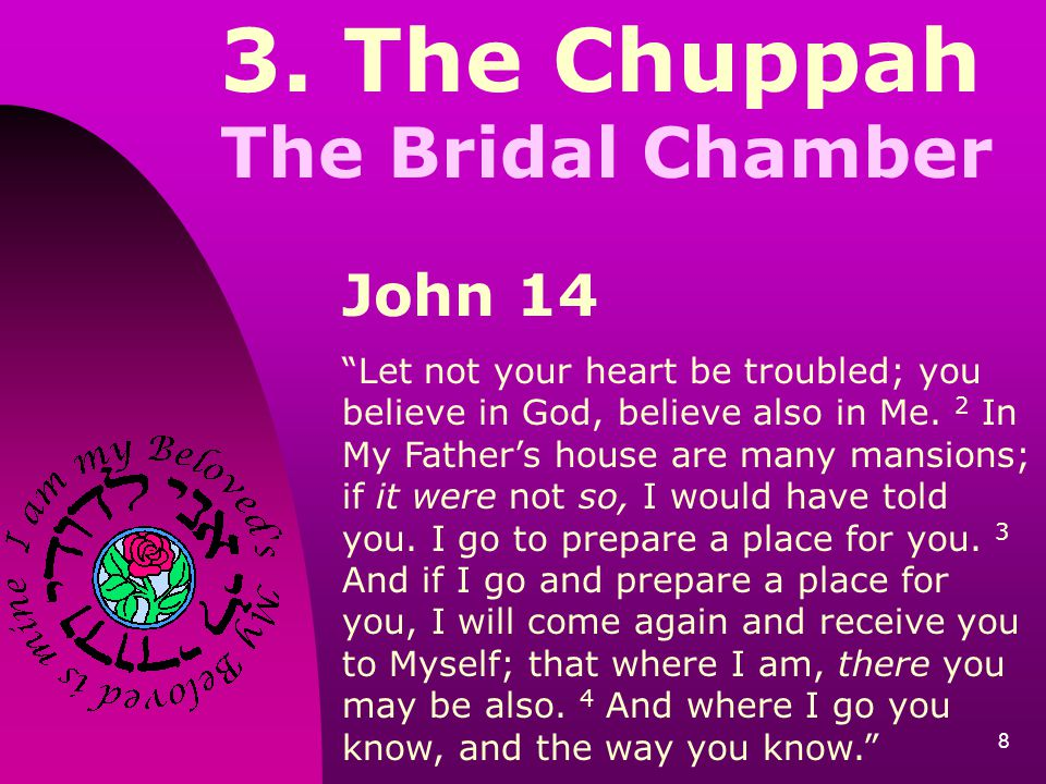 3. The Chuppah The Bridal Chamber John 14