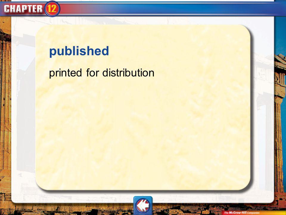 published printed for distribution Vocab20