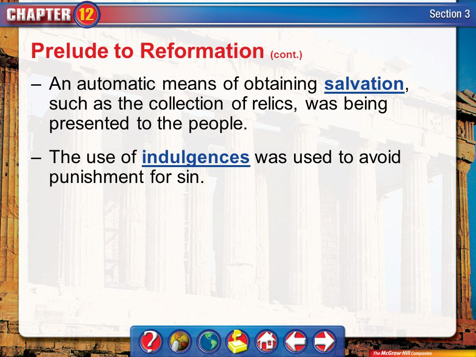 Prelude to Reformation (cont.)