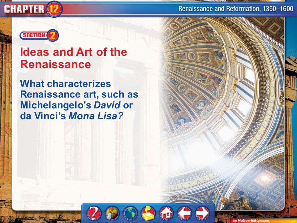 Ideas and Art of the Renaissance