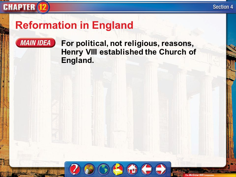 Reformation in England