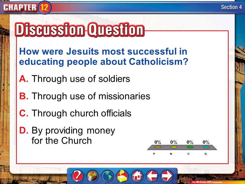 How were Jesuits most successful in educating people about Catholicism