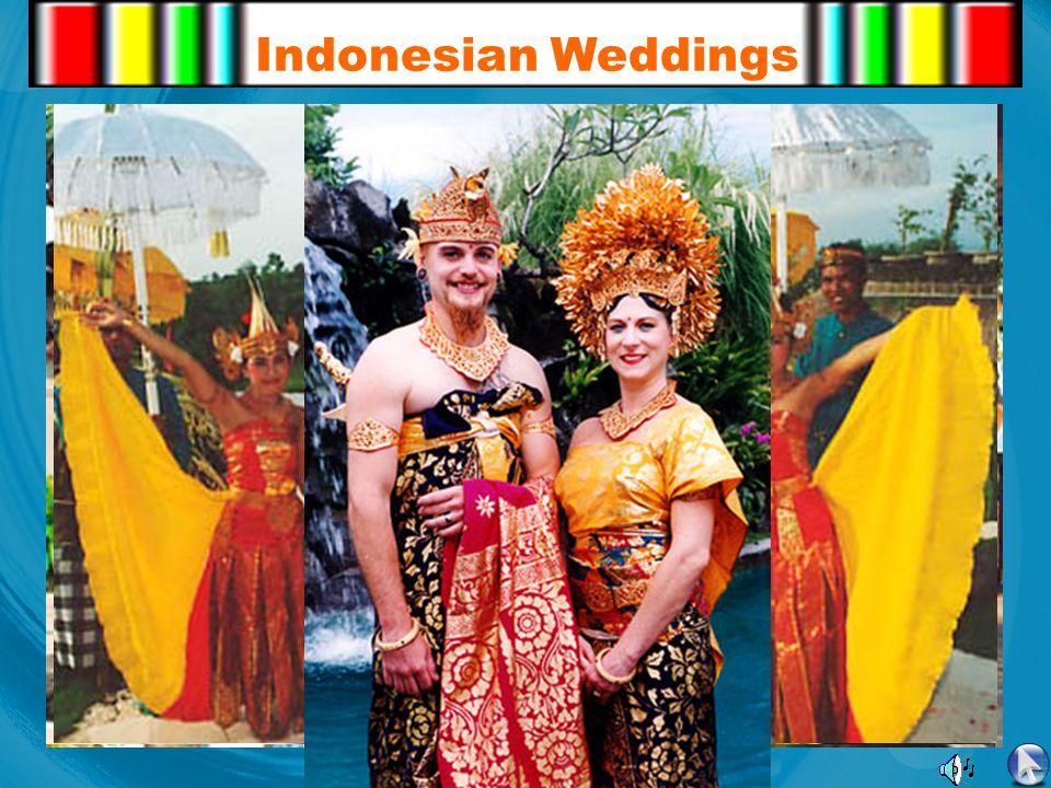 Indonesian Weddings