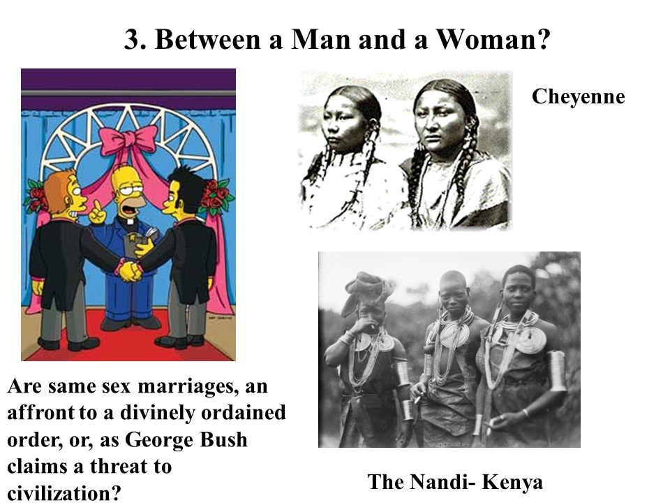 3. Between a Man and a Woman