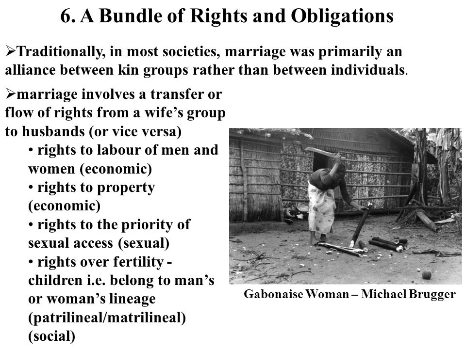 6. A Bundle of Rights and Obligations