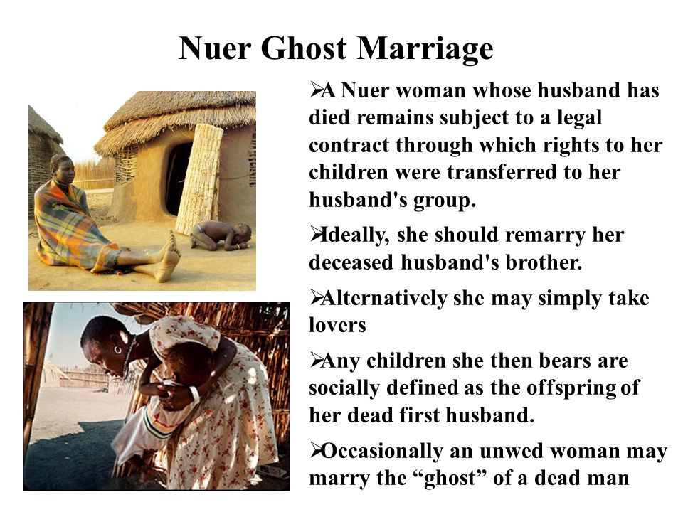 Nuer Ghost Marriage