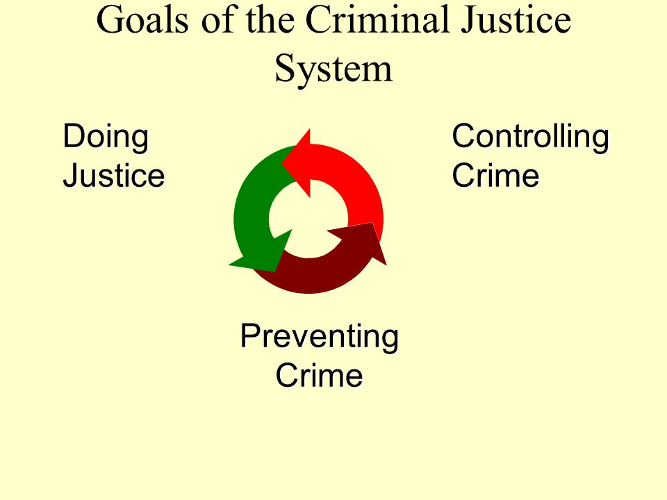 Goals of the Criminal Justice System