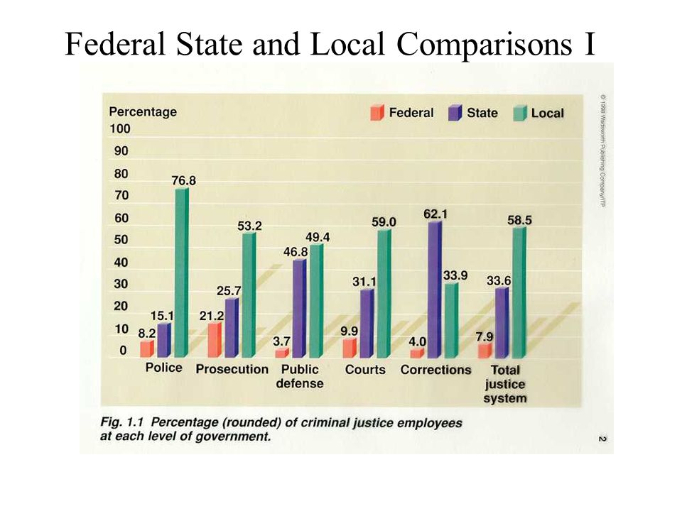 Federal State and Local Comparisons I