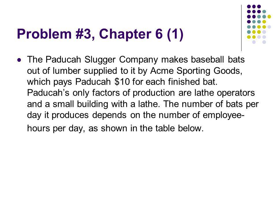Problem #3, Chapter 6 (1)