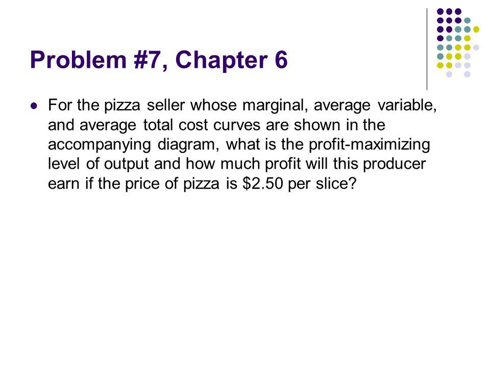 Problem #7, Chapter 6