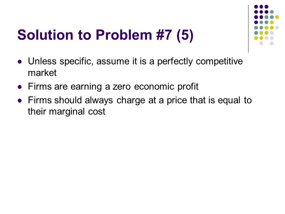 Solution to Problem #7 (5)