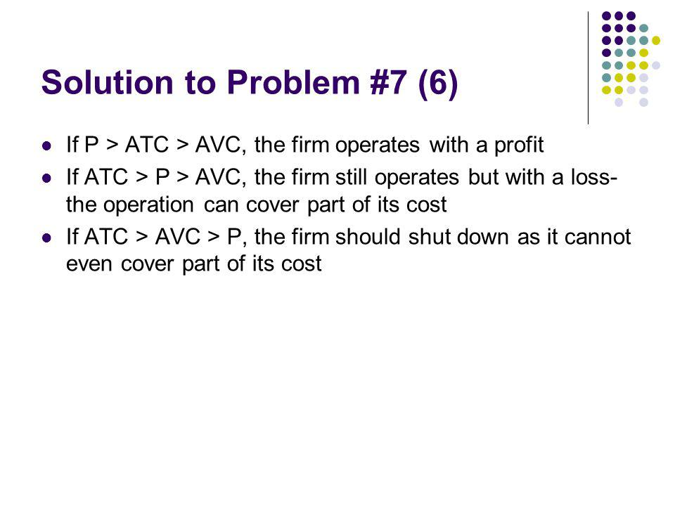 Solution to Problem #7 (6)