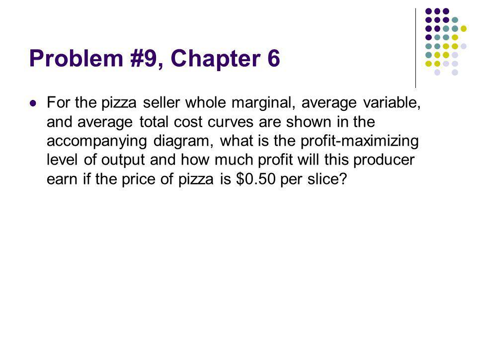 Problem #9, Chapter 6