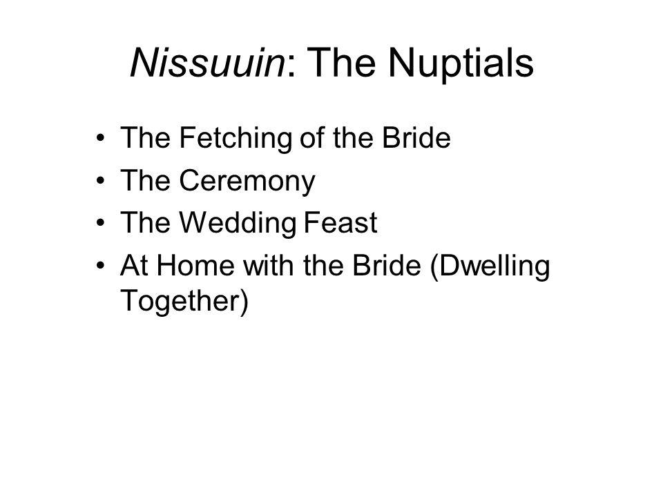 Nissuuin: The Nuptials