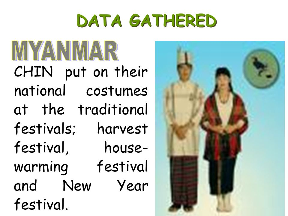 DATA GATHERED MYANMAR.
