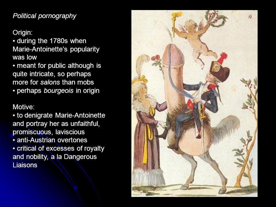 Political pornography