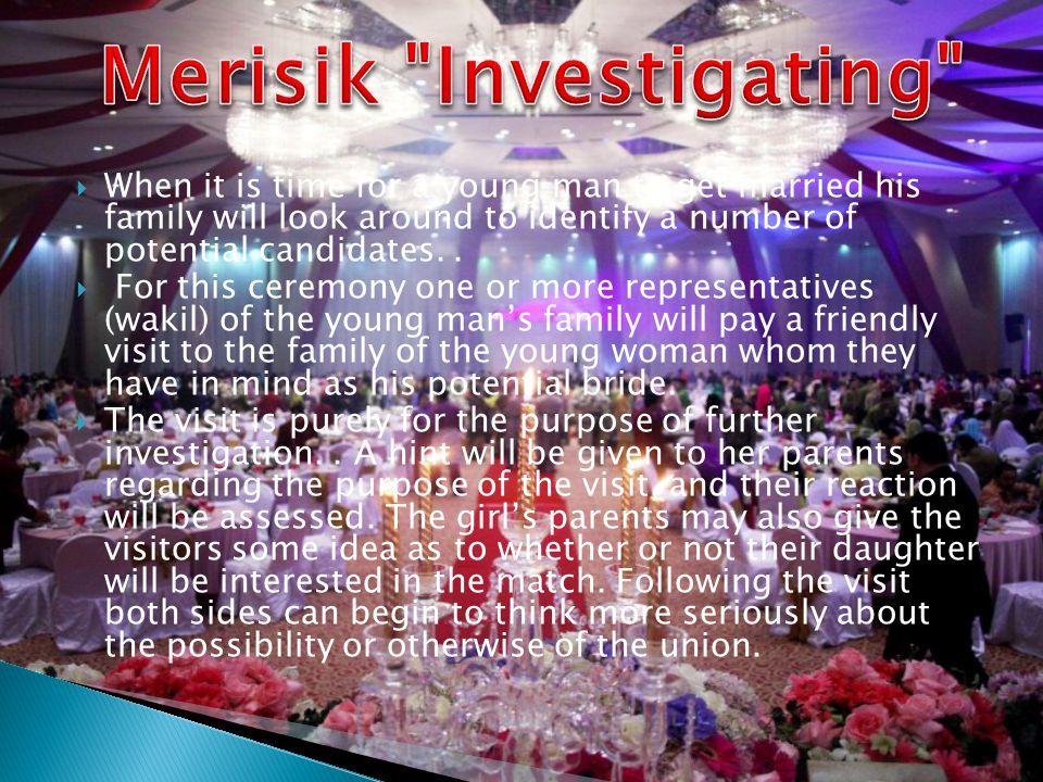 Merisik Investigating
