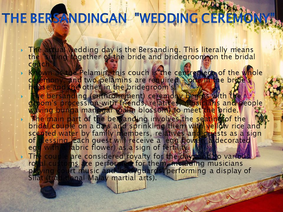 THE bERSANDINGAN WEDDING CEREMONY