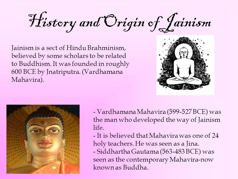 History and Origin of Jainism