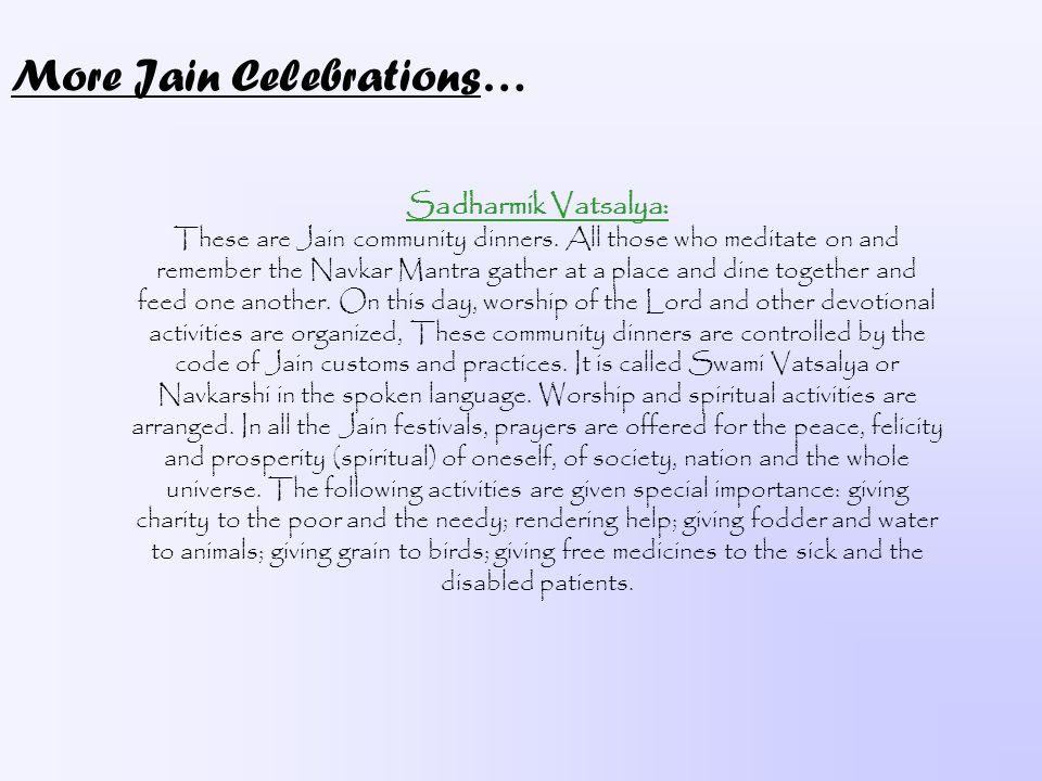 More Jain Celebrations…