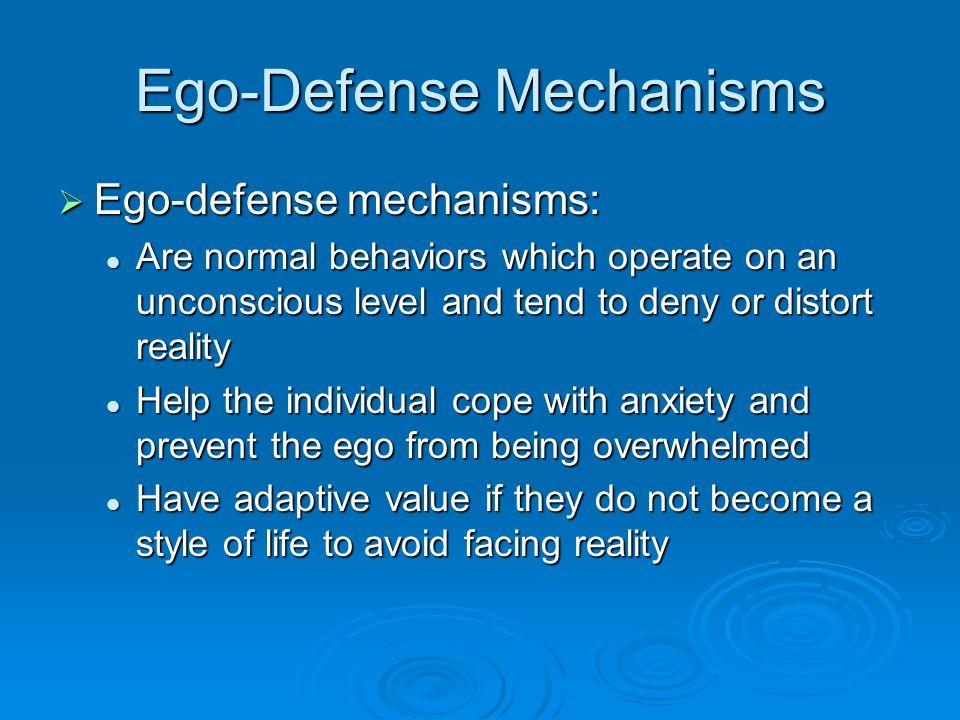 Ego-Defense Mechanisms