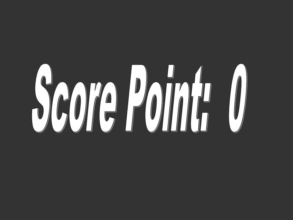 Score Point: 0