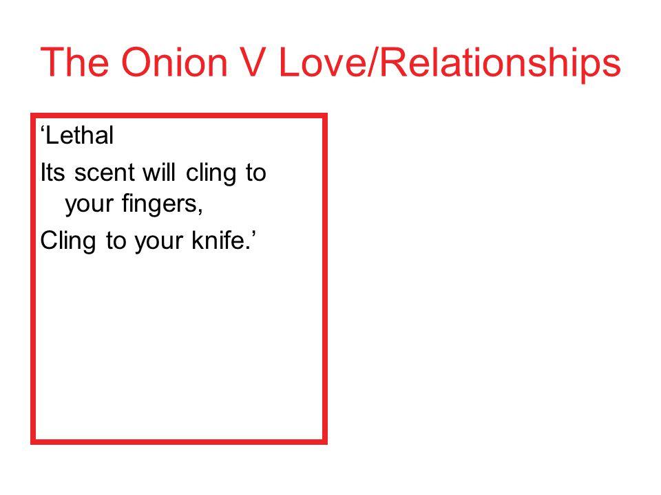 The Onion V Love/Relationships