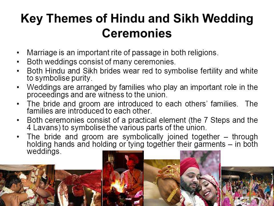 Key Themes of Hindu and Sikh Wedding Ceremonies